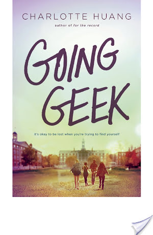 Author Talk With Charlotte Huang – Going Geek