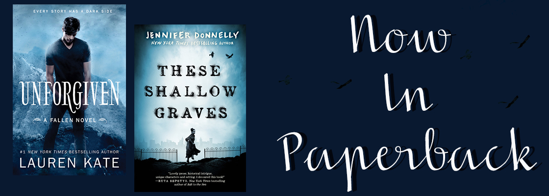 Shallow Graves & Unforgiven Now In Paperback!