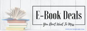 E-Book Deals For Your Long Weekend!