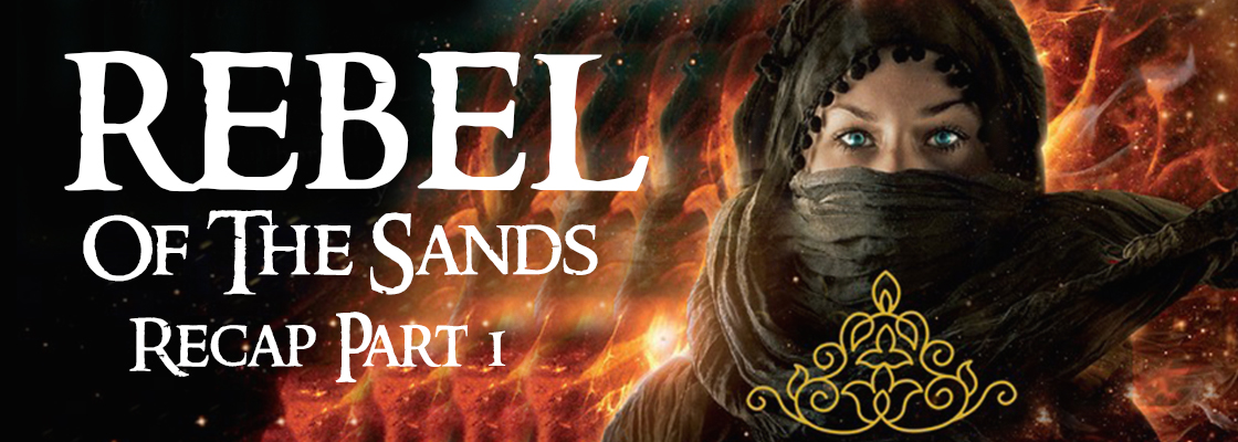 Rebel of The Sands Giveaway