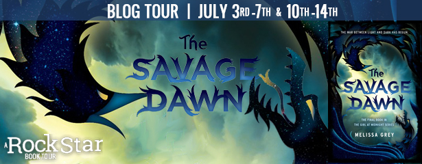 The Savage Dawn by Melissa Grey – Blog Tour