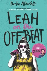 Waiting on Wednesday: Leah On The Offbeat by Becky Albertalli
