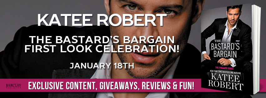 First Look: The Bastard's Bargain by Katee Robert