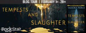 Blog Tour: Tempests & Slaughter by Tamora Pierce