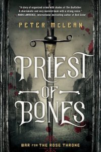 Waiting on Wednesday: Priest of Bones by Peter McLean