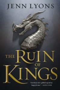 Waiting on Wednesday: The Ruin of Kings by Jenn Lyons