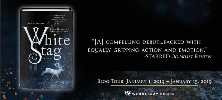 Blog Tour: White Stag by Kara Barbieri