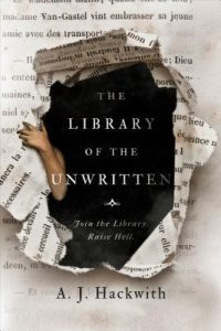 Waiting on Wednesday: The Library of the Unwritten by A.J. Hackwith
