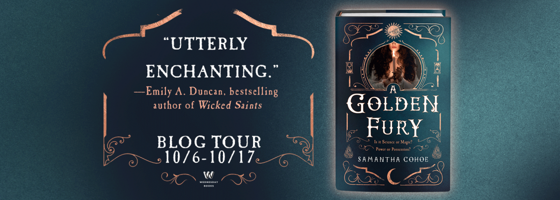 Blog Tour: A Golden Fury by Samantha Cohoe