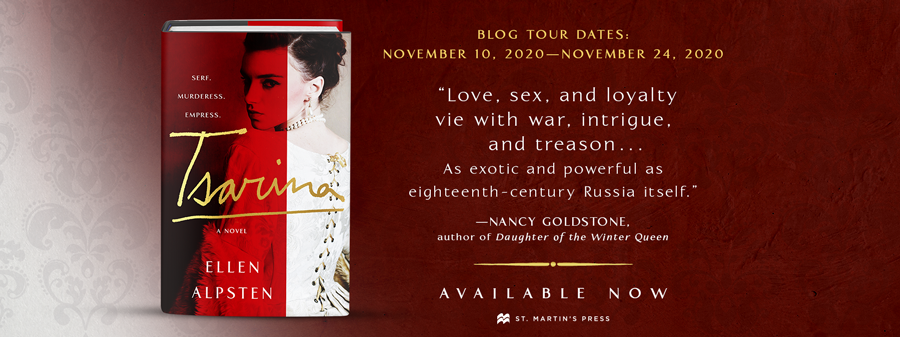 Blog Tour: Tsarina by Ellen Alpsten